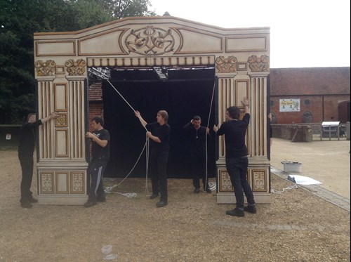 Making Theatre in action